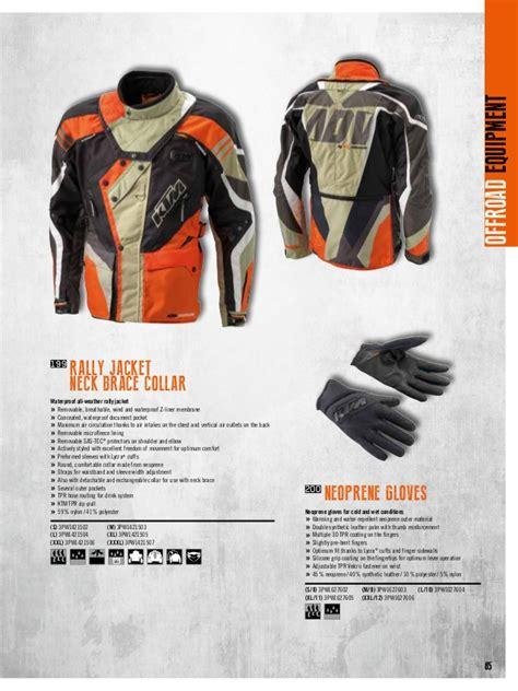 Ktm Power Wear Katal 243 G Ktm Powerwear 2016
