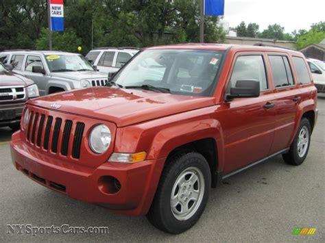 patriot jeep 2008 2008 jeep patriot sport in sunburst orange pearl 521910