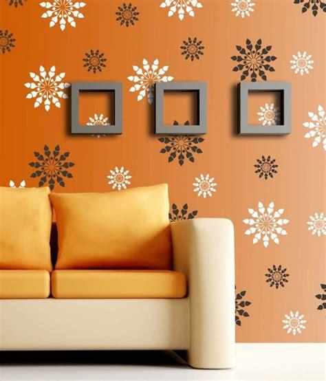 stencil fiori per pareti stencil per pareti come personalizzare le stanze con