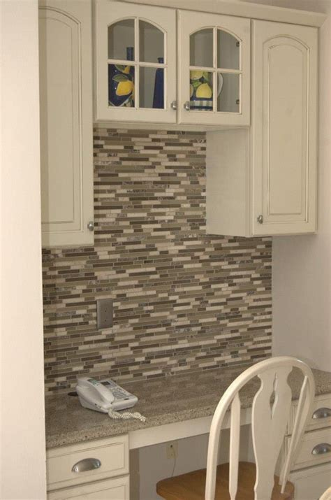 anatolia tile java linear mosaic and glass wall tile backs place from lowes kitchen remodel
