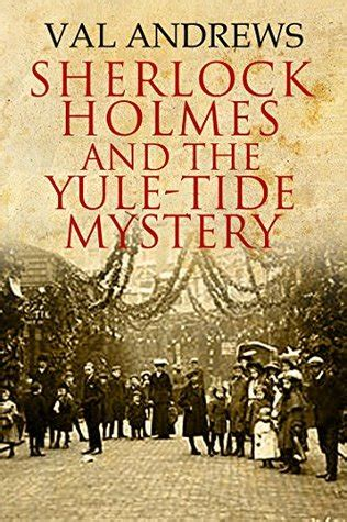 on baker a sherlock bookshop mystery books sherlock and the yule tide mystery by val
