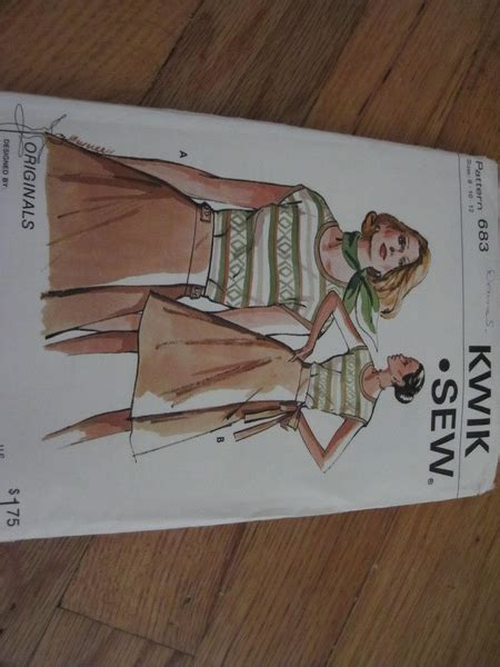 pattern review classifieds kwik sew 3325 misses maternity tops pants and shorts
