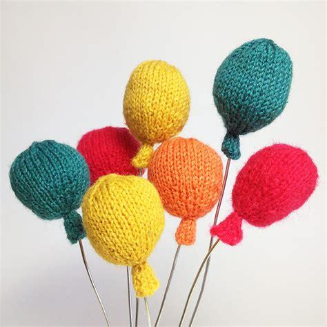 Partsy Knit Balloons