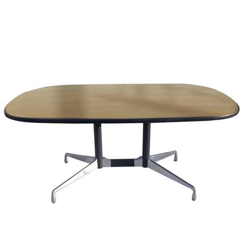 herman miller eames veneer racetrack dining table sale at