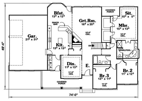 cape cod house plans open floor plan cottage house plans