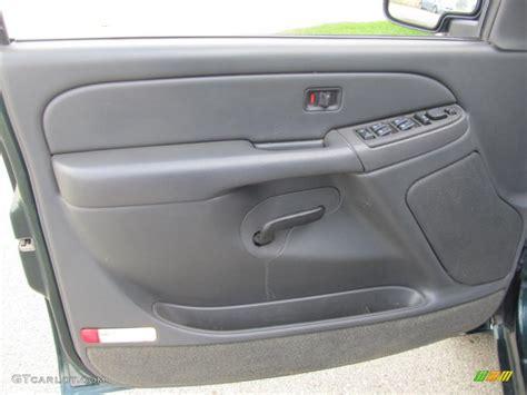 Gmc Door Panel by 2004 Gmc 2500hd Sle Crew Cab 4x4 Pewter Door Panel