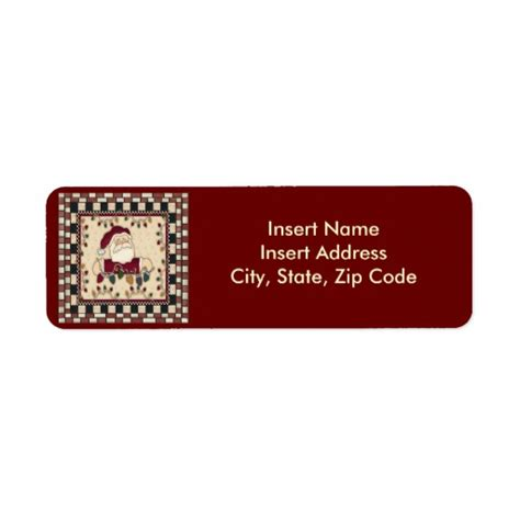 avery printable christmas address labels christmas avery address label zazzle