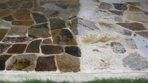 flagstone patio sealer side by side comparison of dupont sealer on