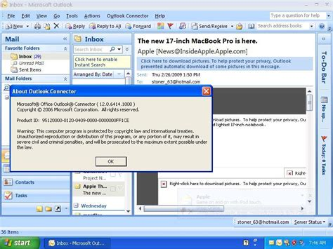 Current Office Version Microsoft Office Outlook Connector Software Informer