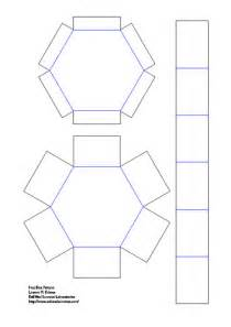 hexagon box template hexagonal stacking boxes evil mad scientist laboratories