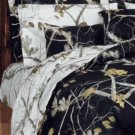 snow camo comforter camouflage twin bedding xl twin size realtree ap snow