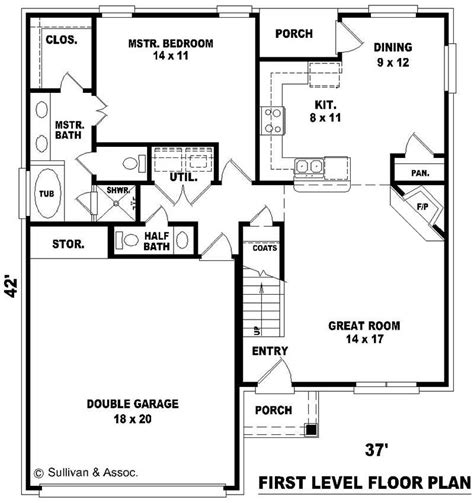 multi level floor plans multi level country house plans home design su b1029 798 475 fc 10059