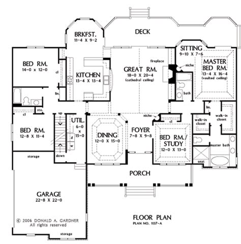 home plan the evangeline by donald a gardner architects