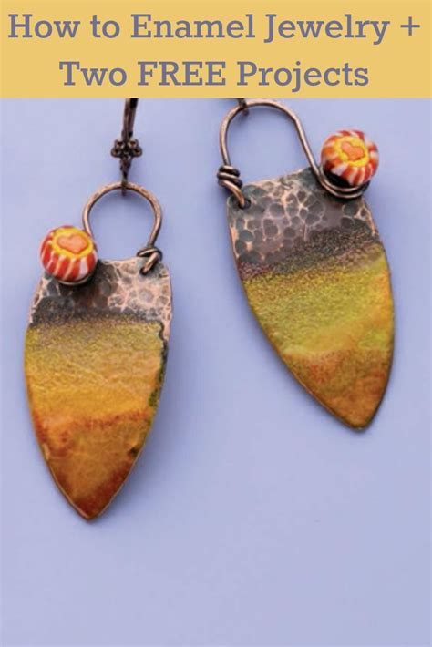 how to make copper enamel jewelry 154 best enamel jewelry torch and kiln fired