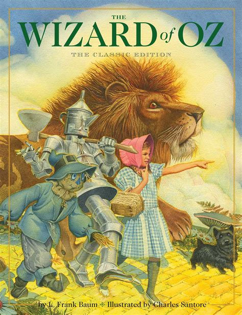 wizard of oz picture book charles santore official publisher page simon