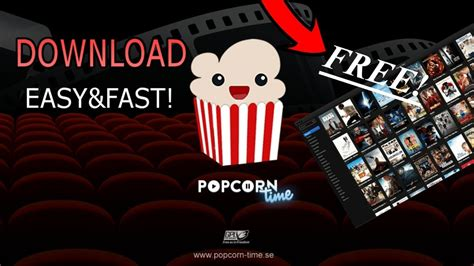 popcorn time fast easy youtube