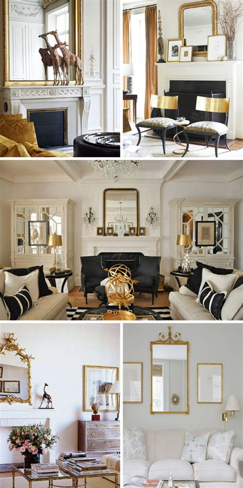 Gold Living Room Ideas How To Decorate With Gold