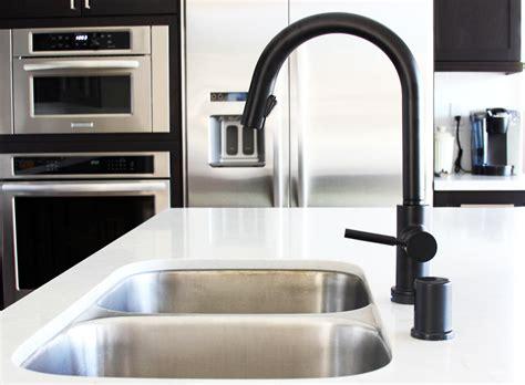 matte black kitchen faucet black is the new black design milk