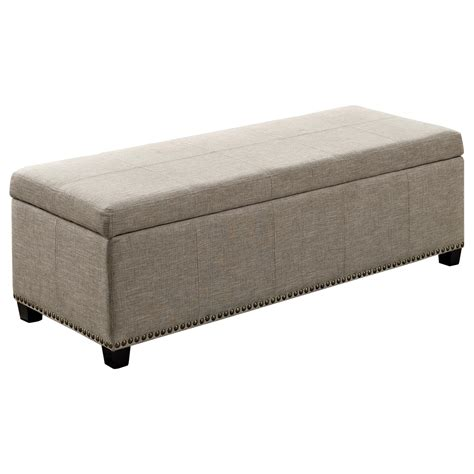 amazon storage bench amazon com simpli home kingsley rectangular storage