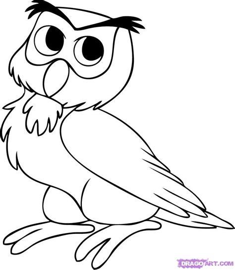 Step By Step Mewarnai Binatang gambar witra mai gambar mewarnai burung hantu