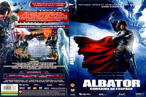 film gratuit blu ray jaquette dvd albator corsaire de l espace absolutecover com