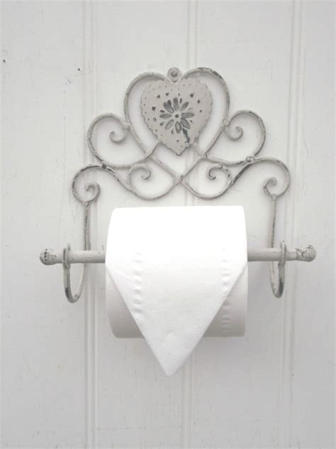 shabby chic heart french vintage grey wall mounted toilet