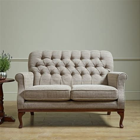 upholstery for sofa old charm burnham compact two seater fabric sofa