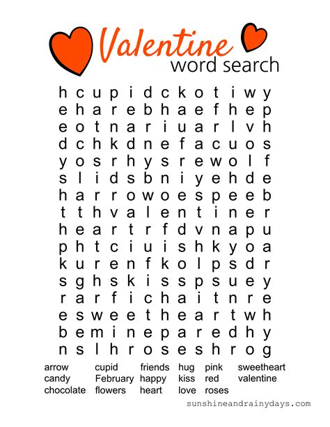 Looking For My Search Word Search Printable And Rainy Days