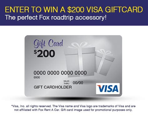 Fox Sweepstakes - fox rent a car contests and sweepstakes