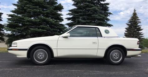 maserati hardtop convertible 1990 chrysler tc by maserati convertible w hardtop and
