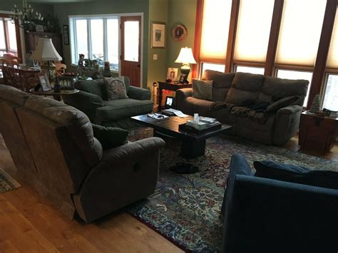 Sofas For Sale Ebay by Lazy Boy Power Reclining Sofa And Loveseat Ebay