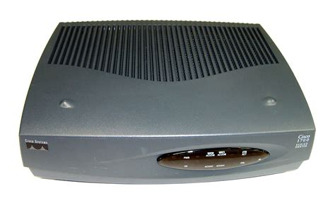 Cisco Router 1700 Series Cisco 1721 1700 Series Version 12 2 8 T5 Router No Ac Adapter Ebay