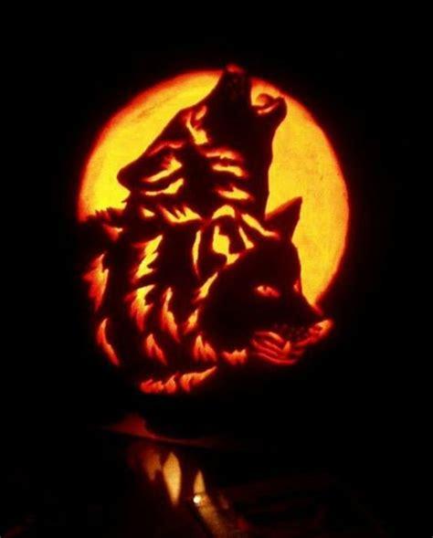 wolf pumpkin template howling wolf pumpkin carving stencils imageland