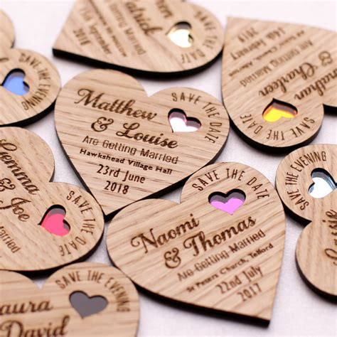 wedding invite magnets save the date wood magnet wooden wedding magnets