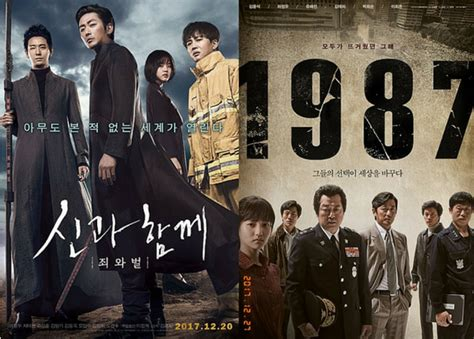 along with the gods box office along with the gods and 1987 dominating south korea s