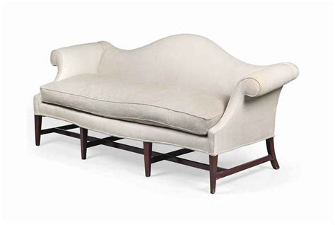 hump couch a hump back sofa of george iii style early 20th century