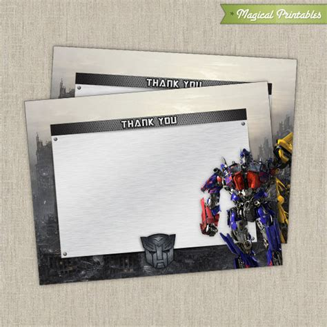 printable birthday cards transformers 8 best images of transformer printable birthday cards