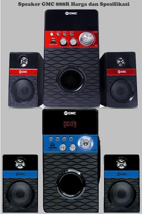 Speaker 2 1 Gmc 888d1 Merah harga speaker aktif gmc 888r multimedia fm radio