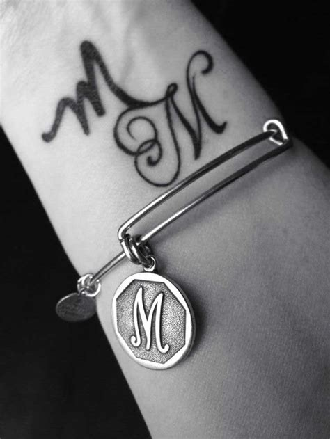 m tattoo designs letter m designs and meanings me now
