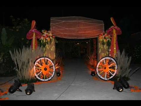 Halloween Party Decoration Ideas by Village Theme Party Youtube