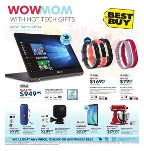 hot tech gifts best buy flyer may 6 2017 mother s day
