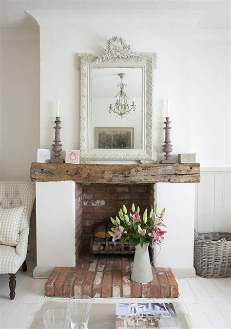 cottage style fireplaces style in an cottage heavenly homes