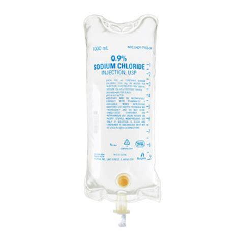 sodium chloride preservative free 0 9 intravenous iv