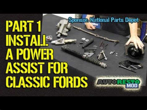 electric power steering 1966 ford galaxie navigation system adding power assist steering to classic ford part 1 episode 209 autorestomod 1 youtube
