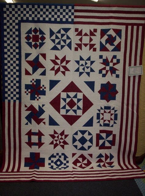 Americana Quilt by Americana Quilt Patriotic Quilts