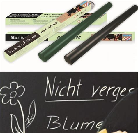 Wallpaper Sticker Krs 10 02 aliexpress buy 45cmx200cm creative chalkboard wall sticker removable blackboard decals