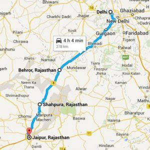 Distance Mba From Delhi 2017 by Delhi To Jaipur Distance Kedar Travel
