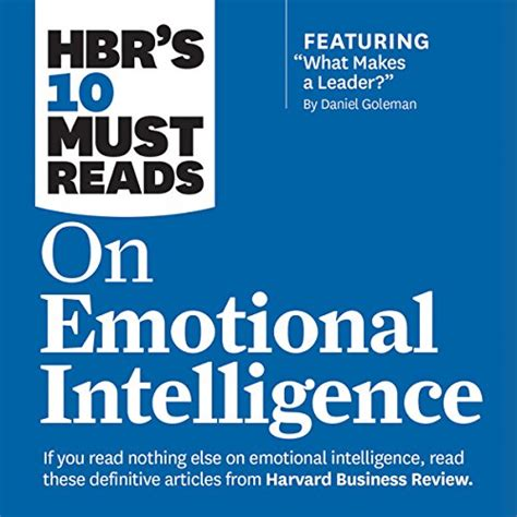 hbr guides to emotional intelligence at work collection 5 books hbr guide series books free hbr s 10 must reads on emotional