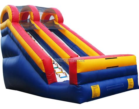 commercial bounce house bouncerland commercial inflatable water slide 2064