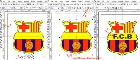 tutorial buat logo tutorial cara buat logo barcelona menggunakan coreldraw